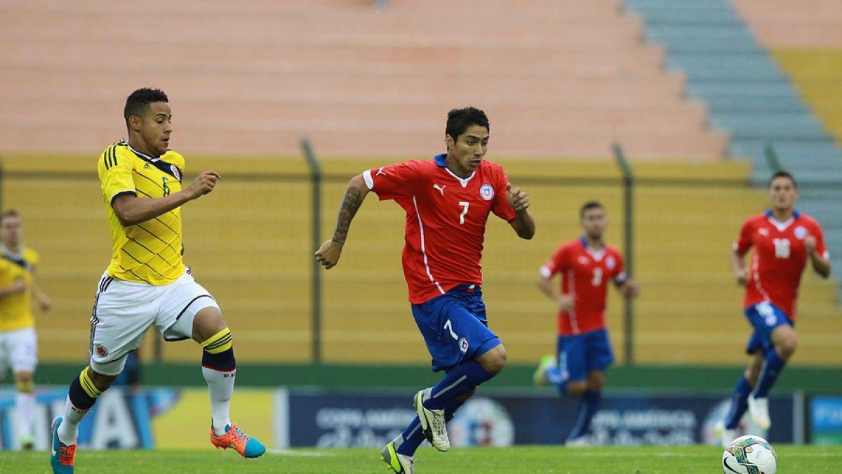 #Sub20enel13: Chile cayó ante Colombia por goleada y complica sus opciones en el Sudamericano