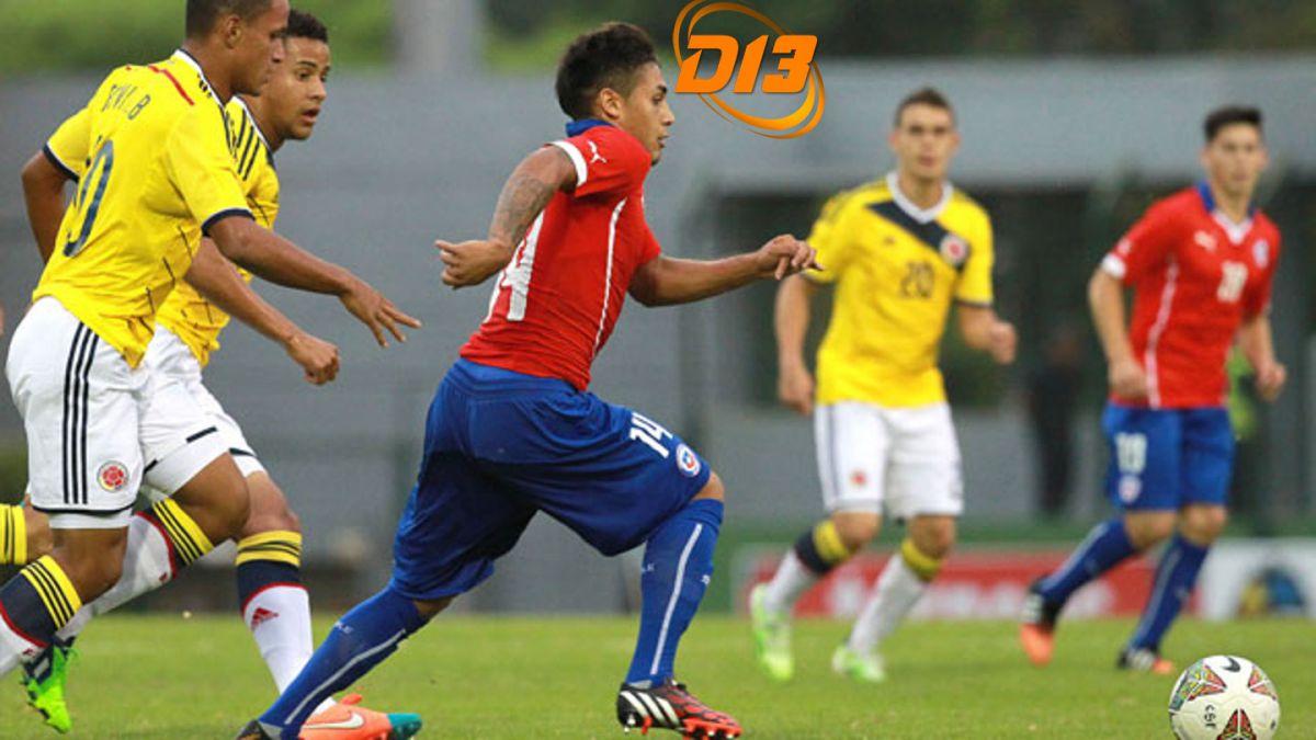 #Sub20enel13: Chile vivió una pesadilla ante Colombia
