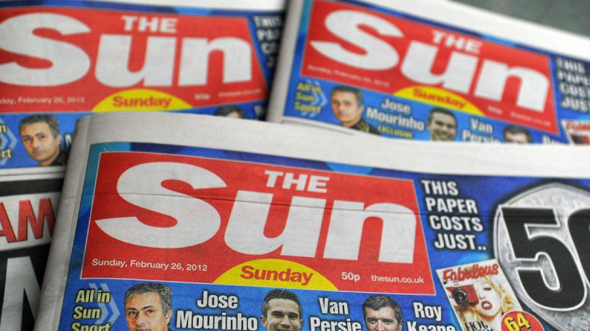 """Diario """"The Sun"""" deja de publicar tradicional foto topless tras 44 años"""