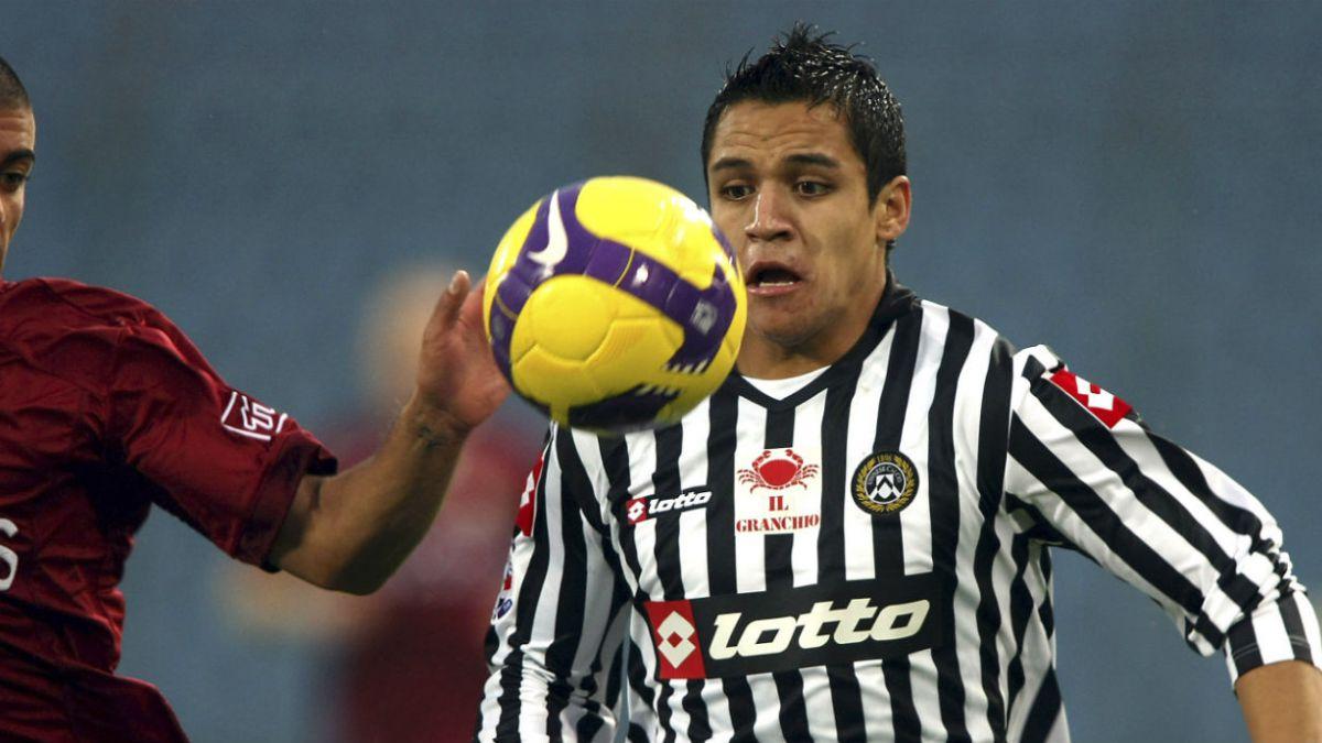 Presidente de Udinese: Fuimos los primeros en creer en Alexis Sánchez
