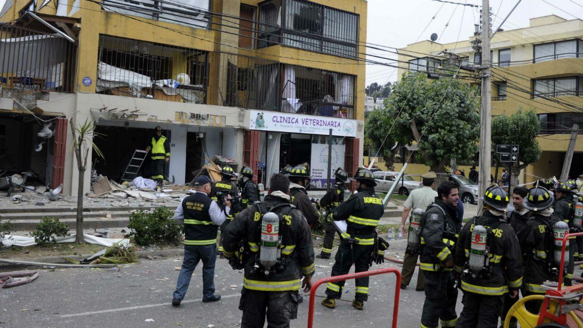 Reñaca: Explosión de gas deja cuatro heridos