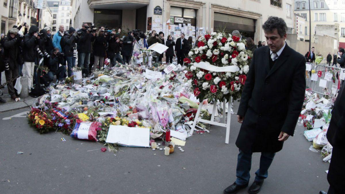 El dibujante Riss es el nuevo director de Charlie Hebdo