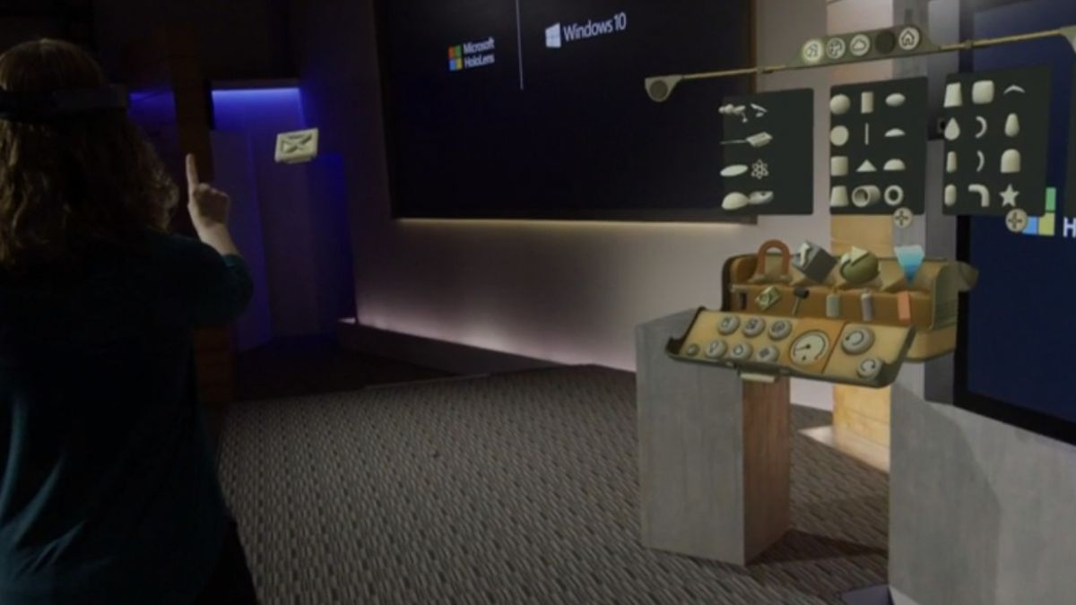 Microsoft mostró nuevos lentes holográficos