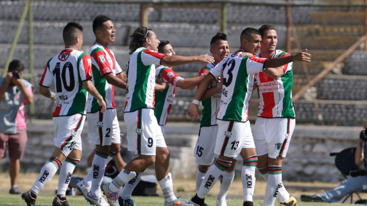 Con un categórico 5-1 Palestino es el primer finalista de la Copa Chile
