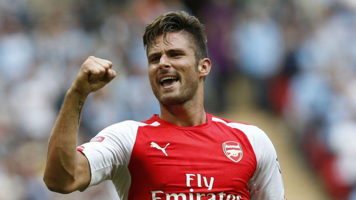 La confesión de Giroud: Mientras estaba lesionado sólo pensaba en volver a jugar con Alexis