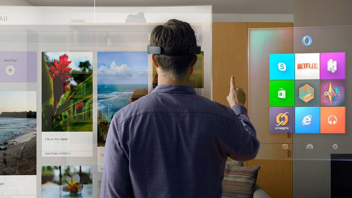 Holo Lens, el dispositivo que permite crear y tocar hologramas en tu casa