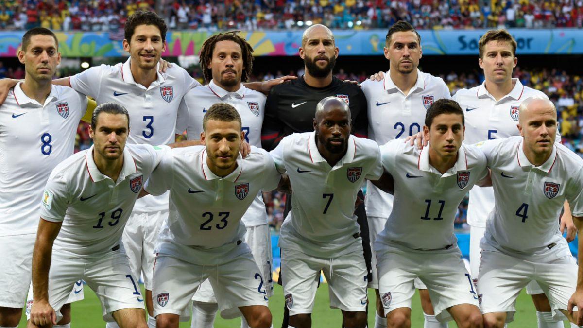 Selección de EE.UU. arribó al país para medirse con la Roja en amistoso