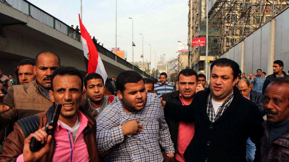 Al menos 13 muertos en cuarto aniversario de la expulsión de Hosni Mubarak del poder