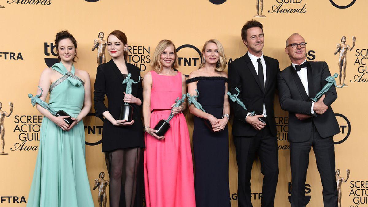 Estos fueron los ganadores de los premios SAG
