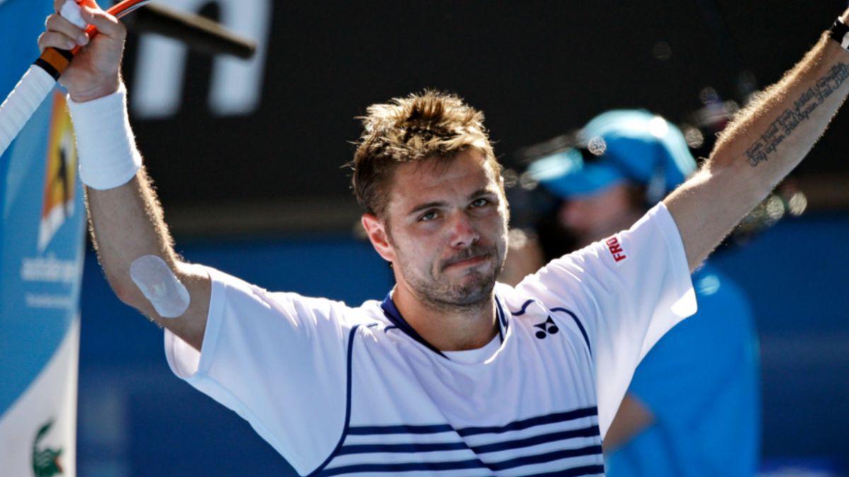 Abierto de Australia: Wawrinka pasa a cuartos de final tras derrotar a García López