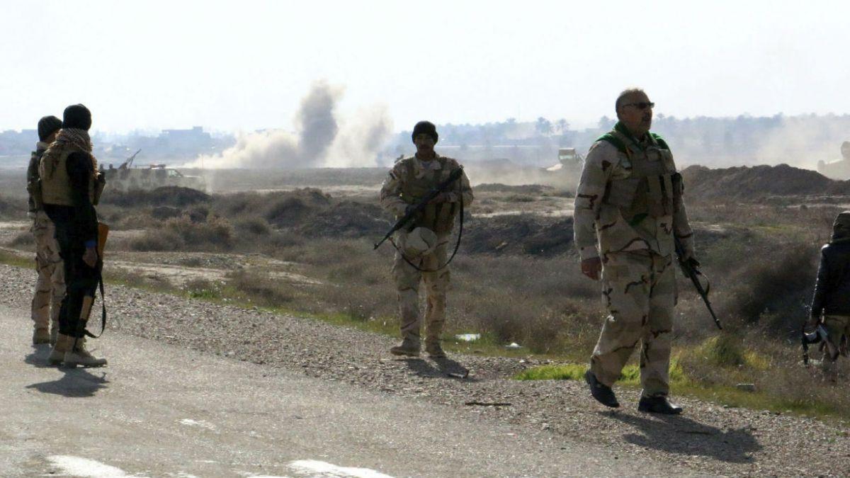 Iraquíes liberan zona controlada por el Estado Islámico