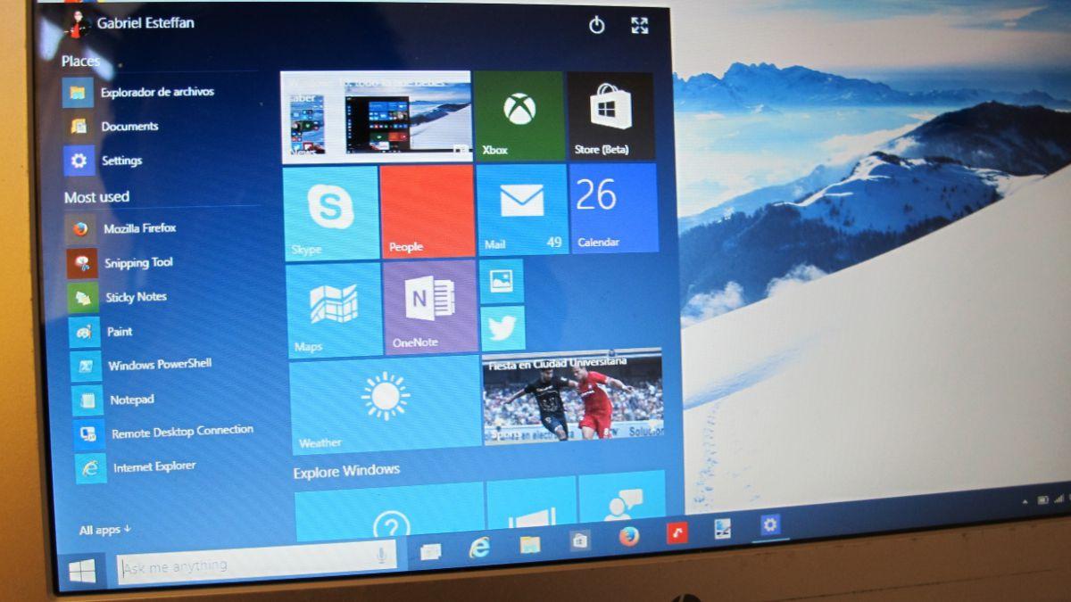 Probamos Windows 10, la nueva apuesta de Microsoft