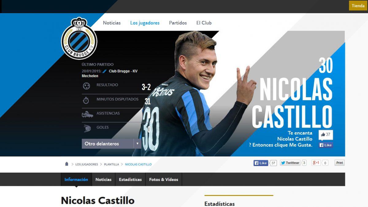 Nicolás Castillo se va a préstamo y jugará con Gonzalo Jara
