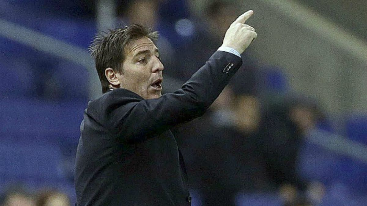Berizzo ya completa 8 derrotas y 2 empates en los últimos partidos de la liga española