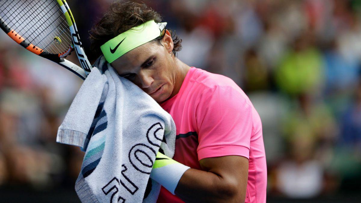 Nadal amenaza a juez en pleno partido de tenis