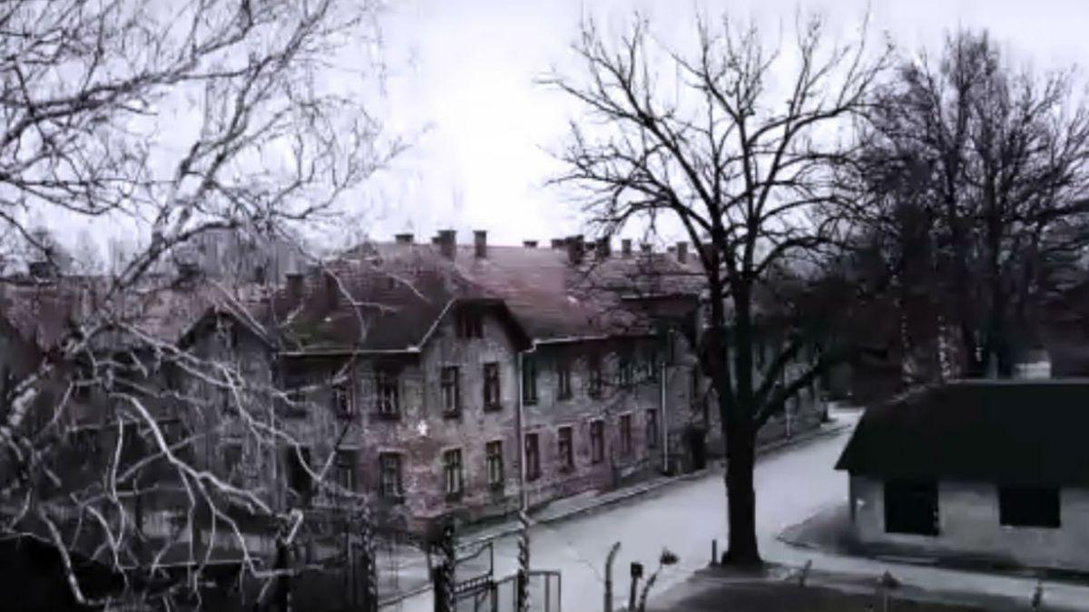 [VIDEO] Imágenes aéreas muestran cómo era el campo de concentración de Auschwitz