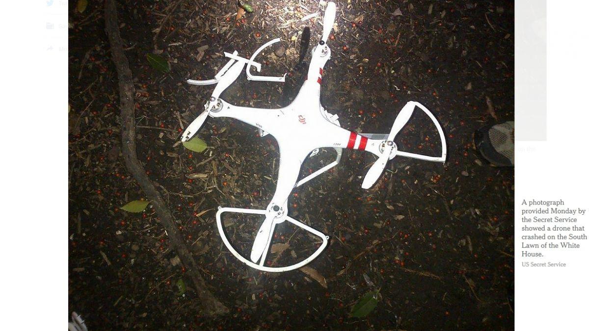 Obama regulará drones luego de que uno chocara la Casa Blanca