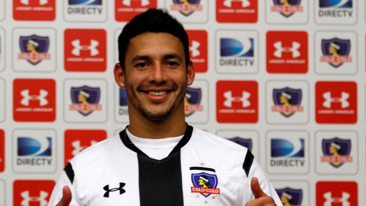 Colo Colo presenta oficialmente a José Leonardo Cáceres