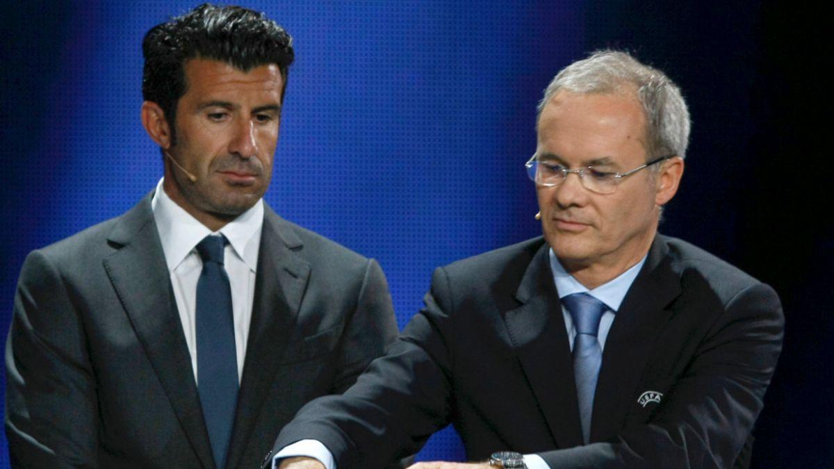 Luis Figo anuncia candidatura a la presidencia de la FIFA
