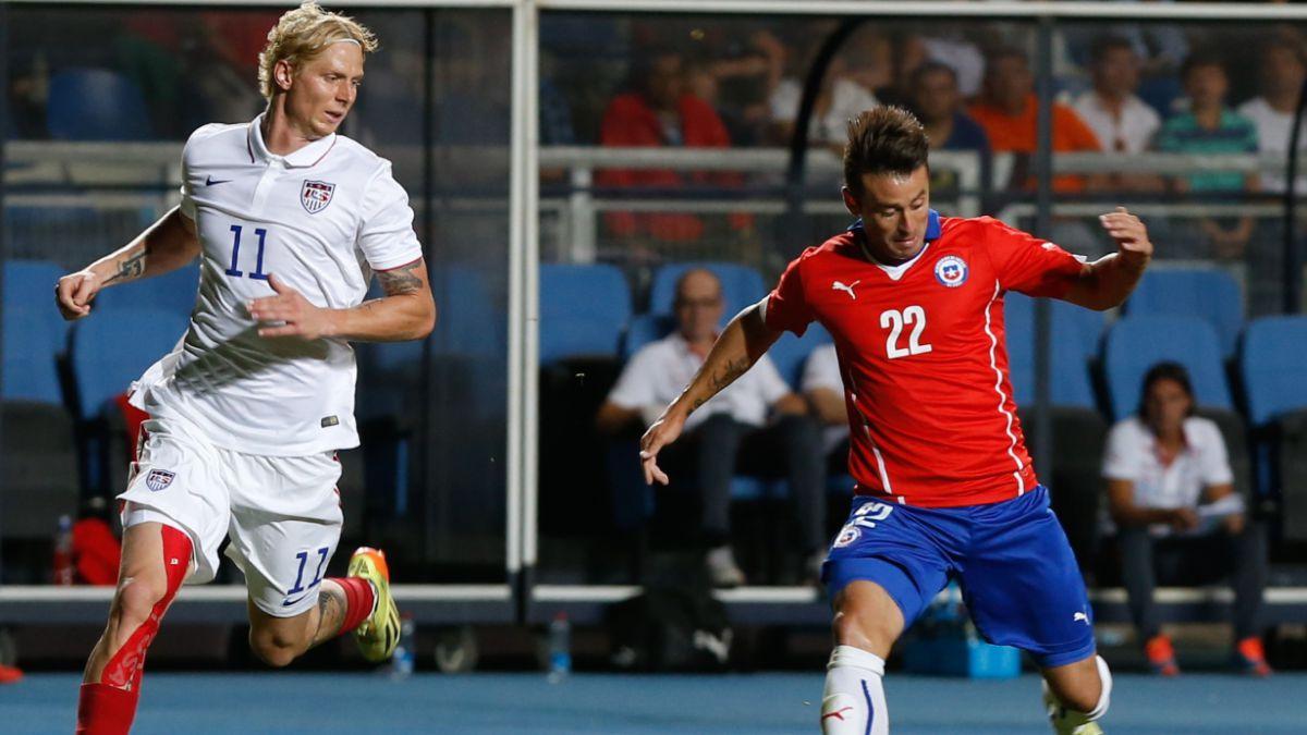 Chile derrotó a EE.UU. en un disputado amistoso