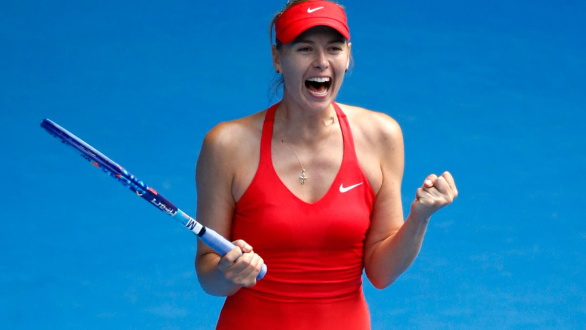 Abierto de Australia: Sharapova y Williams se enfrentarán en la final