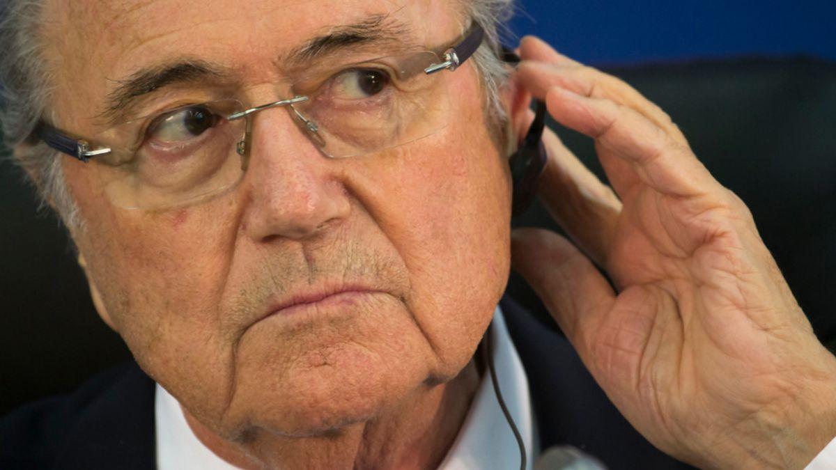 Joseph Blatter presenta oficialmente su candidatura a presidencia de la FIFA