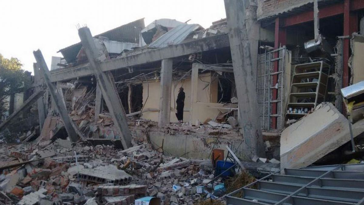 Explosión de gas en México: Autoridades corrigen cifra y bajan a 2 el número de fallecidos