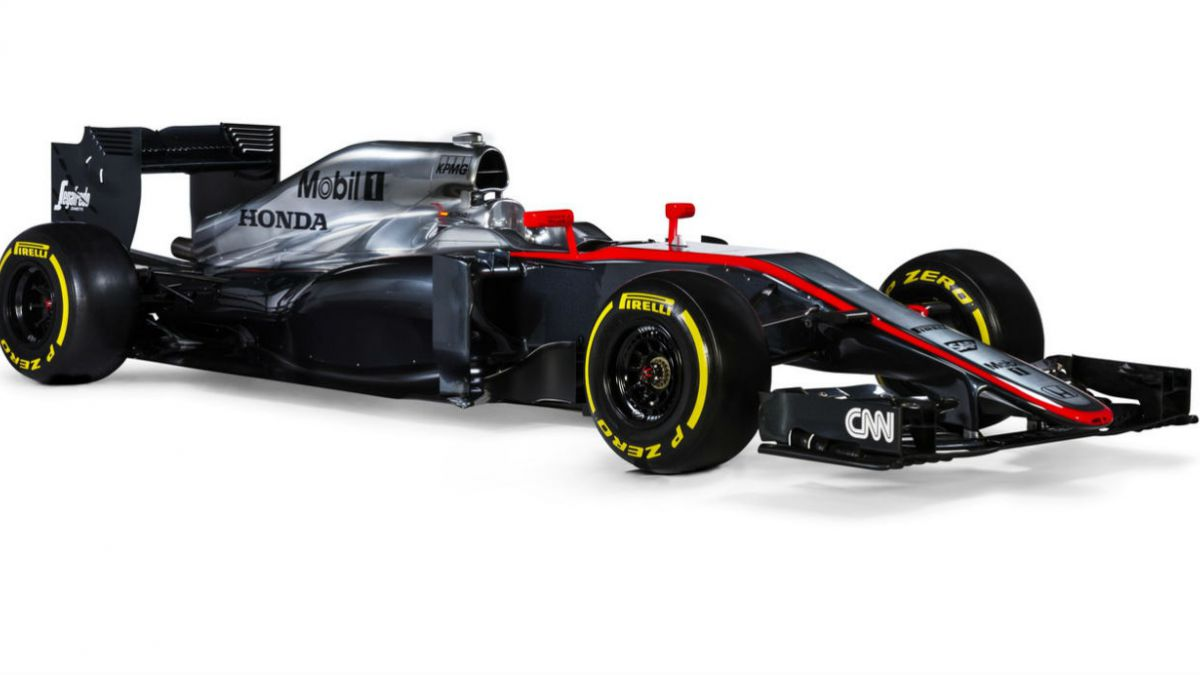 El nuevo modelo de McLaren para este 2015 que pilotará Fernando Alonso