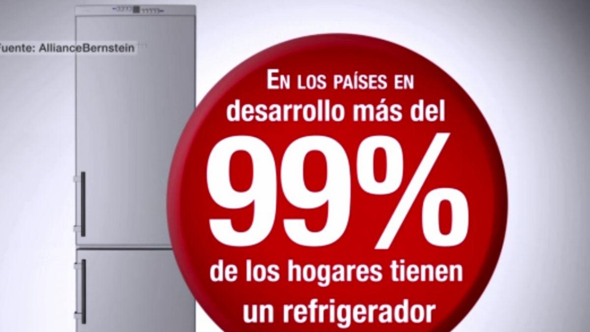 [VIDEO] Las diferencias sociales que revela el contenido del refrigerador