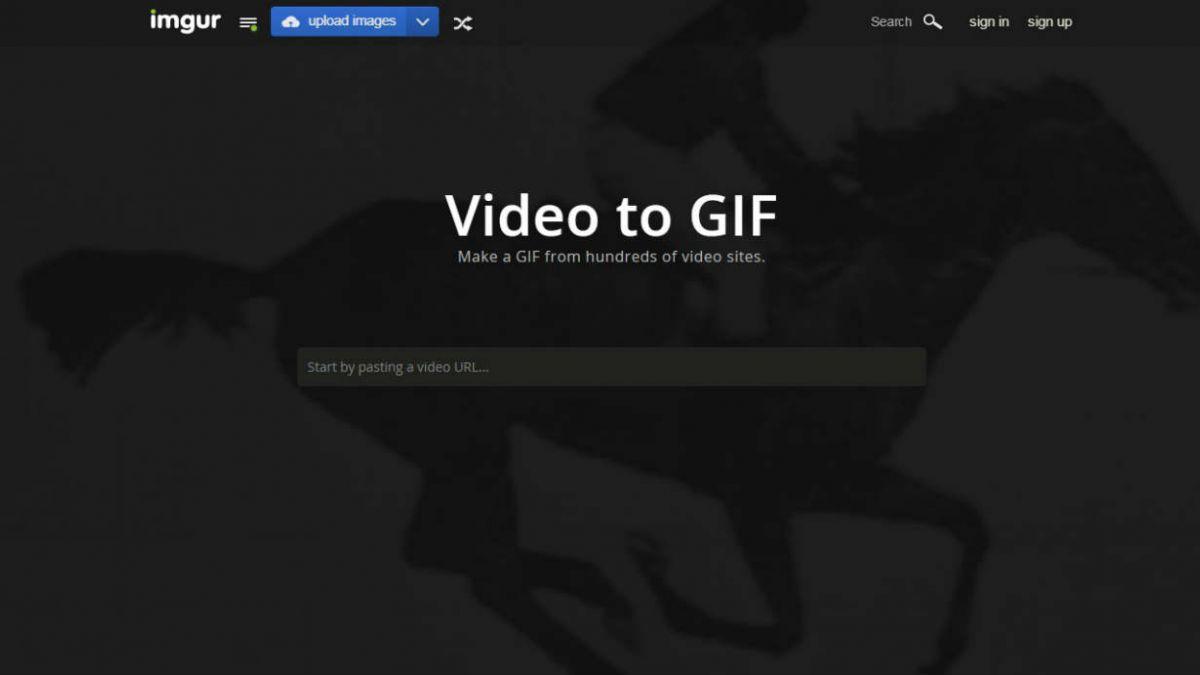 Imgur lanza servicio para crear Gifs