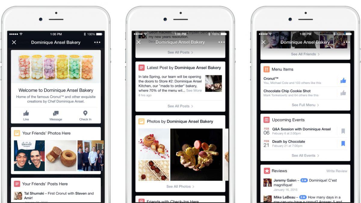 Facebook sugerirá lugares que estén cerca del usuario