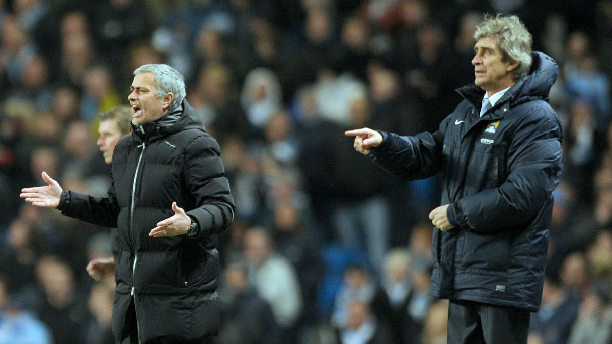 Con un historial negativo Pellegrini vuelve a enfrentarse con Mourinho