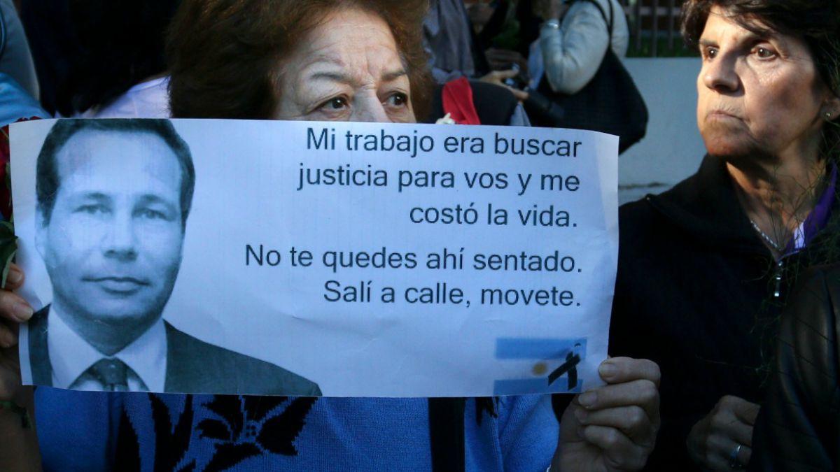 Sólo se encontró ADN del fiscal Nisman en el arma que lo mató