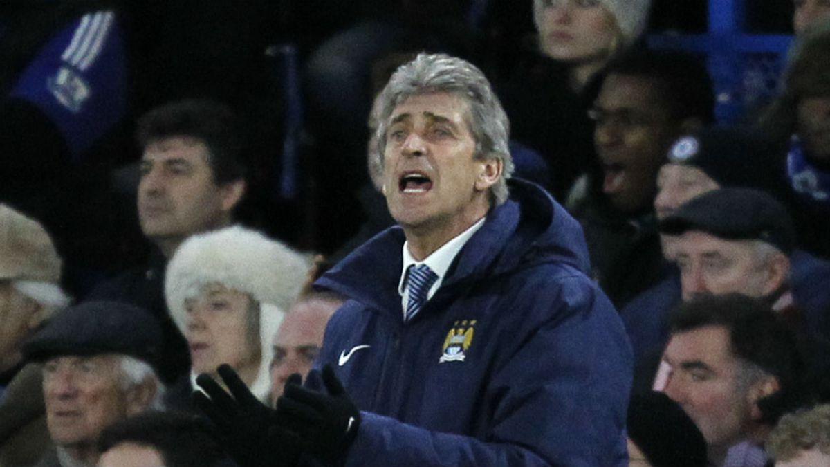 Manchester City de Pellegrini empata frente al Chelsea