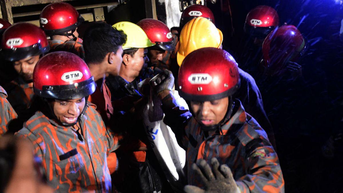 Incendio en una fábrica de Bangladesh deja 13 muertos