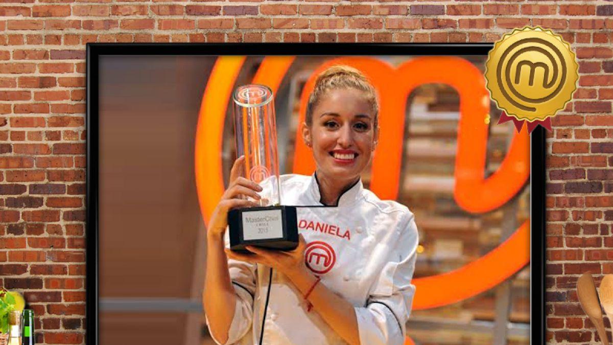 Daniela Castro es la gran ganadora de MasterChef Chile