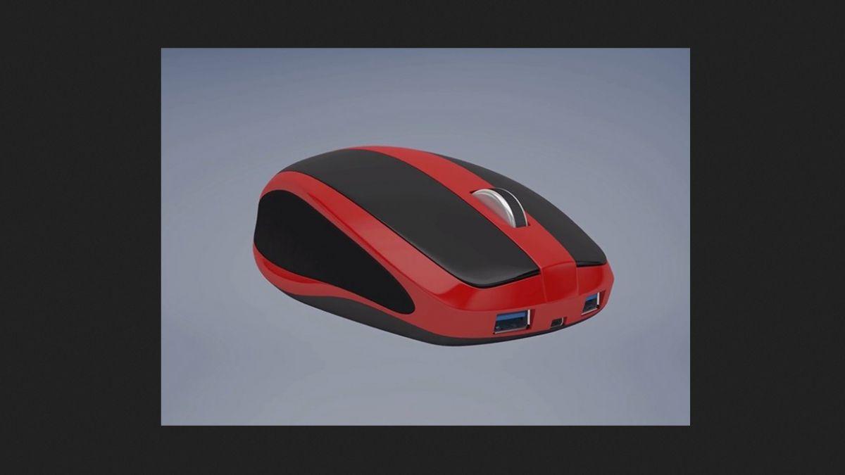 Diseñan curioso computador con forma de mouse