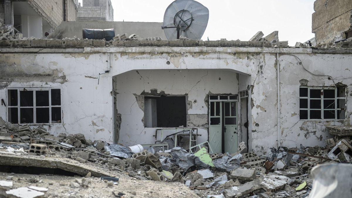 La brutal destrucción de Kobane tras el combate contra el Estado Islámico