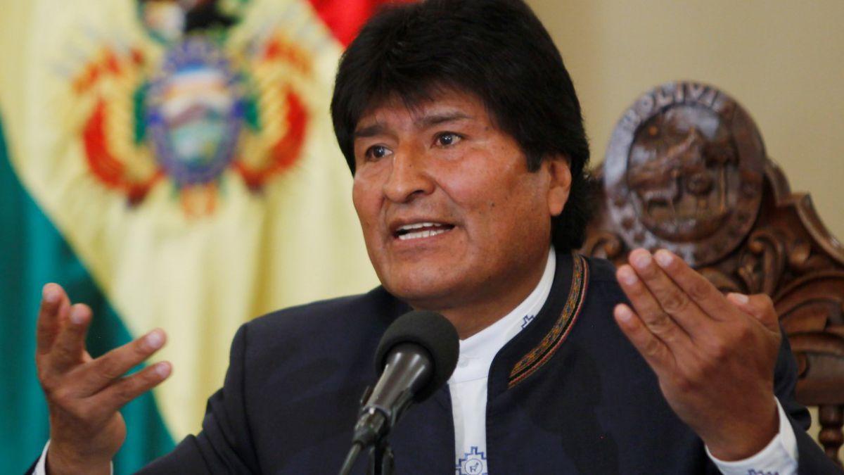 Evo Morales cuestiona postura del gobierno chileno ante visita de Mesa