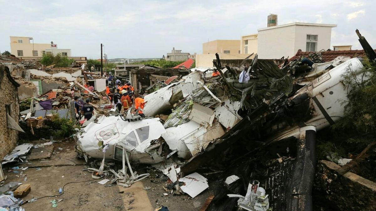 El historial de accidentes del TransAsia en menos de un año