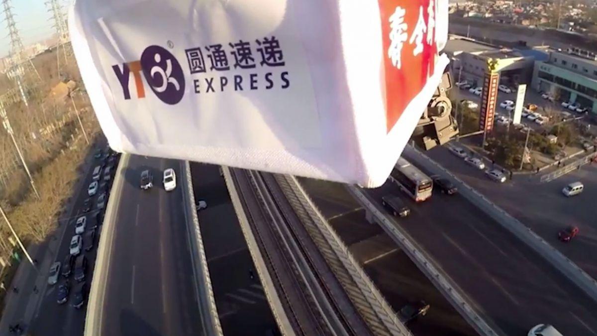 [Video] Alibaba usa drones para entregar té en China