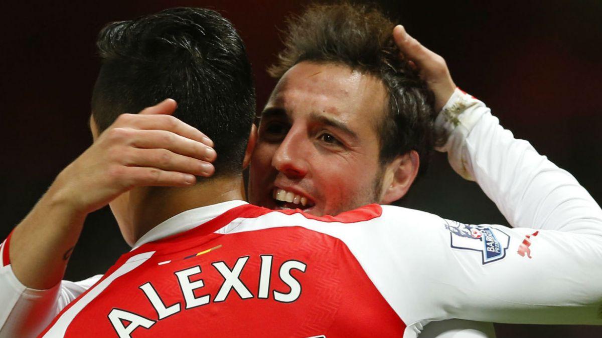 Cazorla vuelve a superar a Alexis como jugador del mes de Arsenal