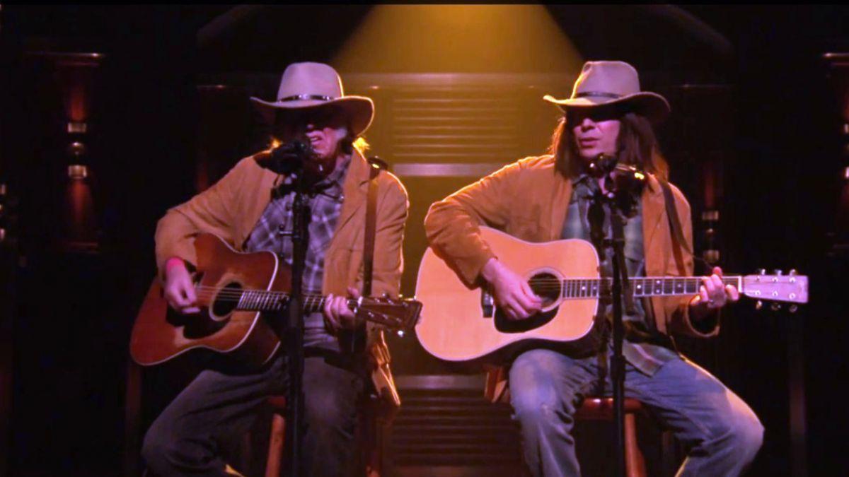 Jimmy Fallon sorprende al cantar con el propio Neil Young