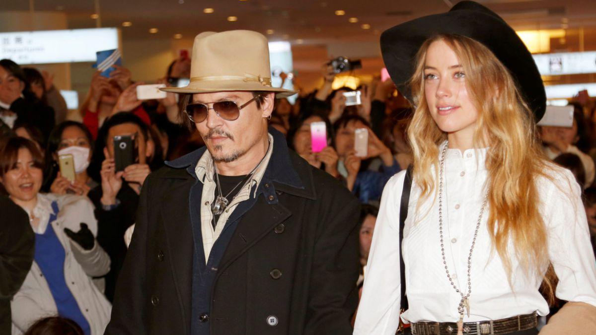Johnny Depp se casa con la actriz Amber Heard