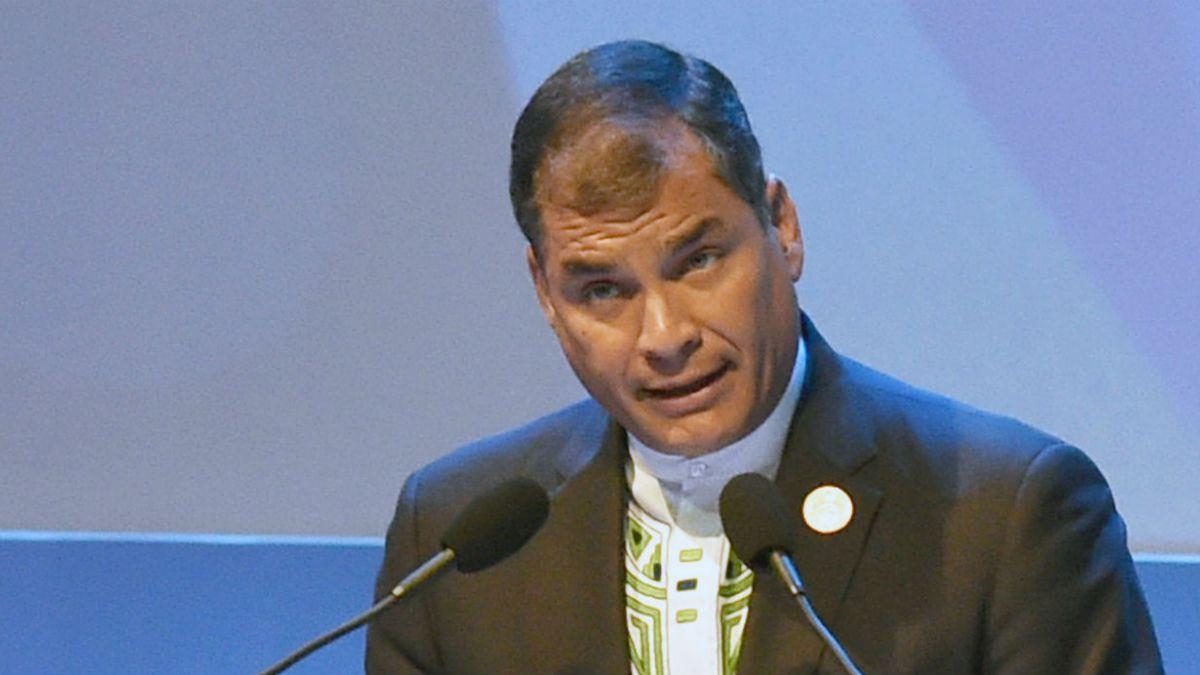 Correa tilda de broma de mal gusto decreto de EEUU contra Venezuela