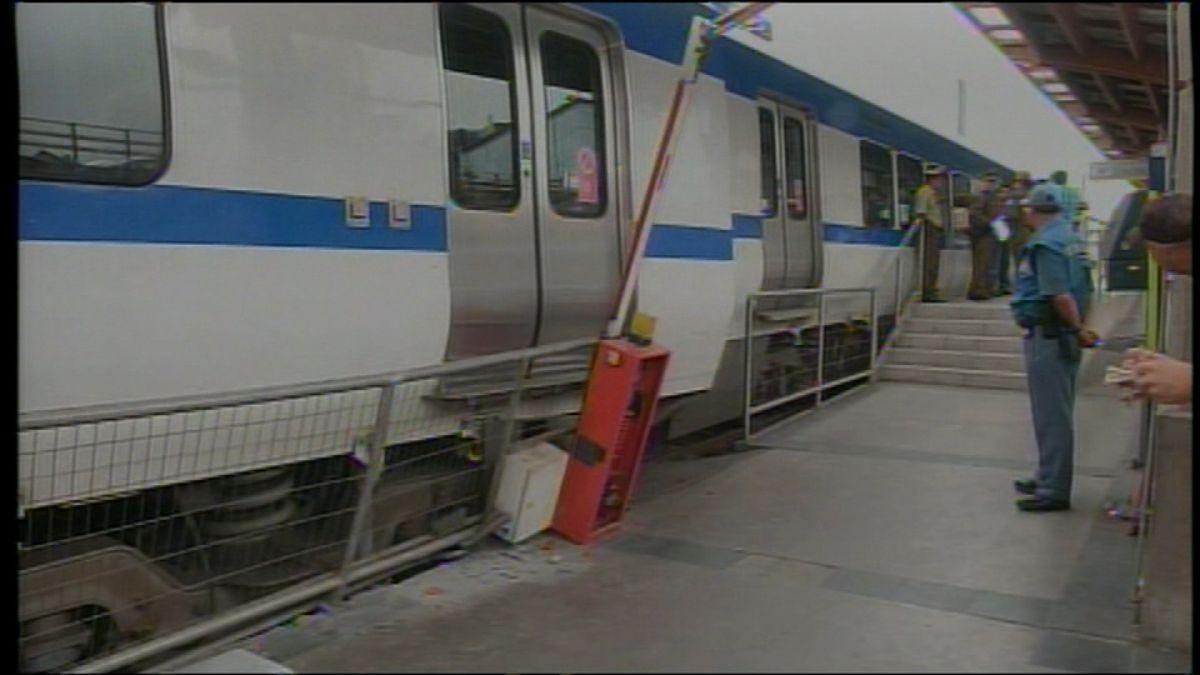 Tren de Metro de Valparaíso se descarrila y deja tres heridos