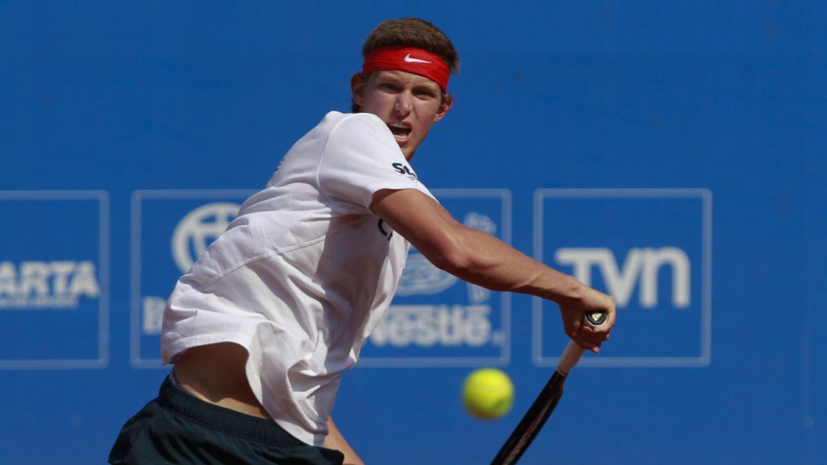 Nicolás Jarry quedó eliminado en el ATP de Quito