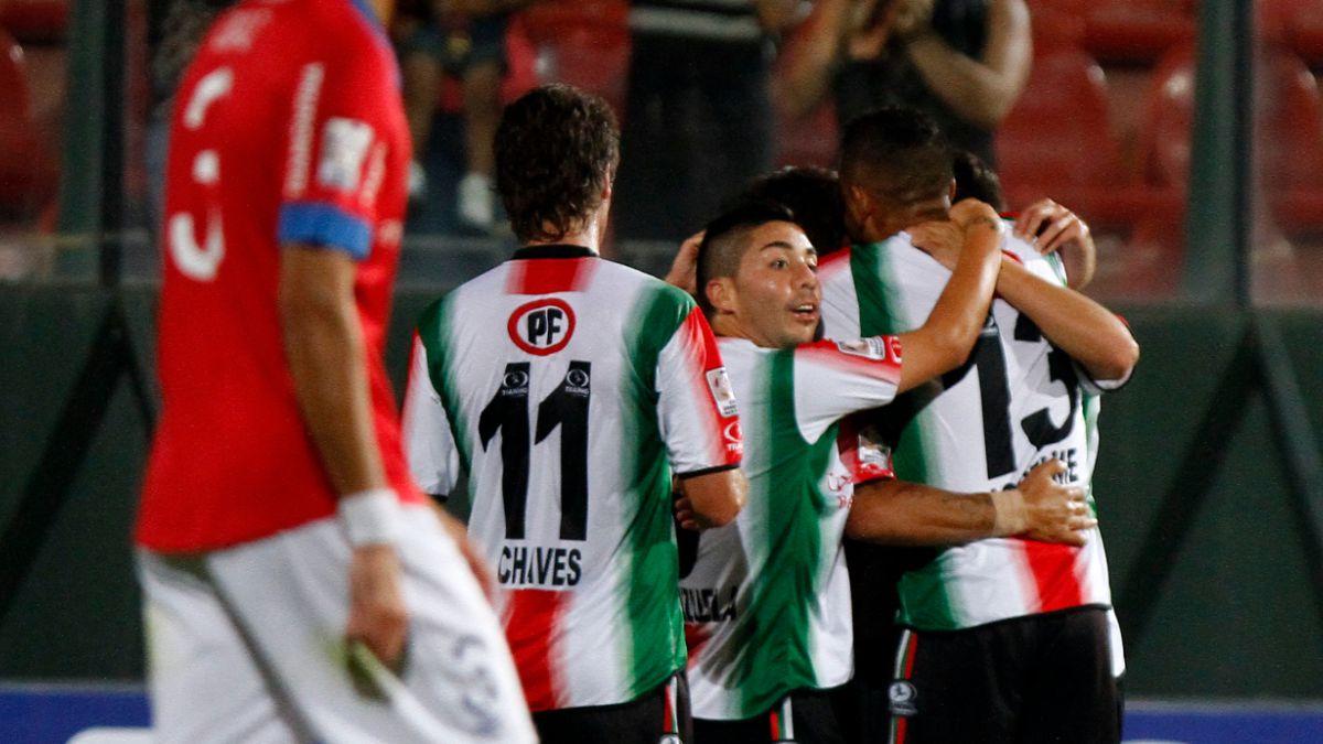 Palestino da el primer golpe y se impone a Nacional por Copa Libertadores