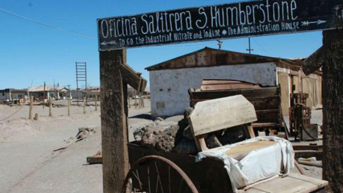 Humberstone, el pueblo fantasma chileno que desató una guerra