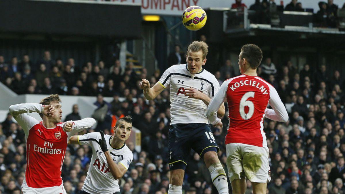 Sin Sánchez Arsenal cae frente a Tottenham en el Clásico de Londres